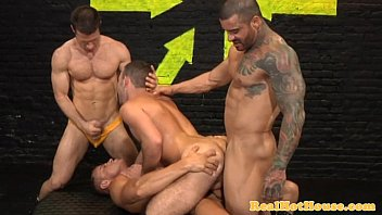 Xvideso Gay Butch masculine studs in orgy