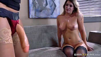 Brazzers hardcore office strapon fun with eva jenna