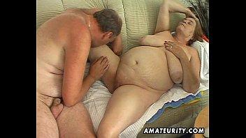 Chubby mature amateur wife sucks and fucks | Video Make Love