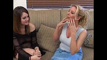 Teaching valerie to give a blowjob