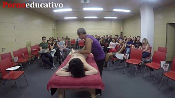 Clase 2 de masaje erótico anal