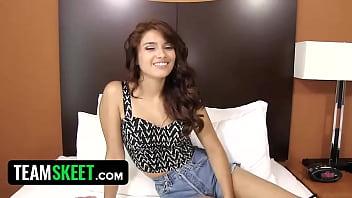 TeensDoPorn fucking latina teen porn newbie | Video Make Love