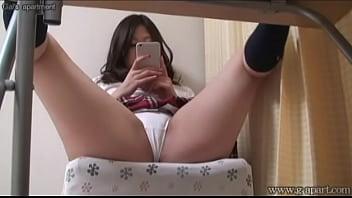 Hidden cam under desk japanese babe