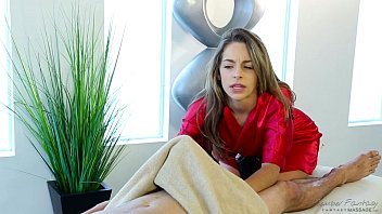Shy guy on his first massage with Kimmy Granger... | Video Make Love