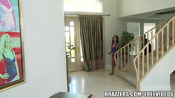 Brazzers alexa aimes sneaking in the back door