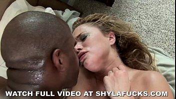 Shyla stylez gets pounded by black dick