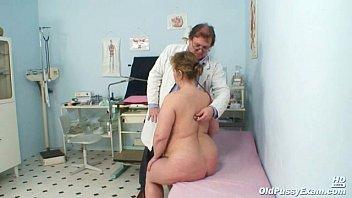 Vilma mature pussy speculum gyno examination 8