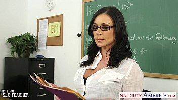 Brunette teacher kendra lust gets f..