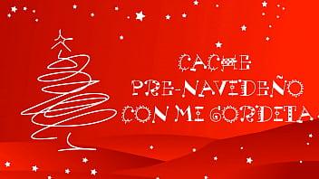 Cache pre-navideño con mi gordita