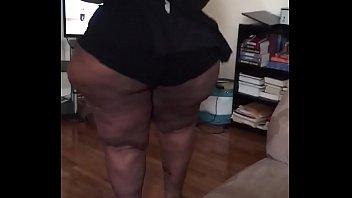Bbw ssbbw pear shaped wide hips big butt workout (part3)