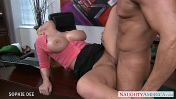 Awesome sophie dee fucking in the o..