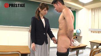 女教師がおっさんを全裸にさせてお説教からのフェラチオ!これぞアメとムチ!素人|イクイクXVIDEOS日本人無料エロ動画まとめ