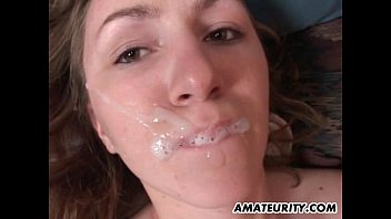 Amateur girlfriend anal with huge cum in mouth