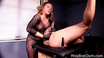 Bp153prostate massage femdom miss brat