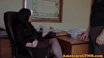 office-cfnm-femdom-sucking-coworkers-cock