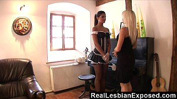 Reallesbianexposed lonely housewife fucking the maid