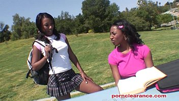 Ebony sorority girls have pussy lic..