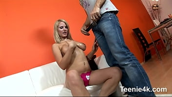 Big tits young teen amateur blondie loves su...