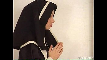 Nun prayed and fucked by god