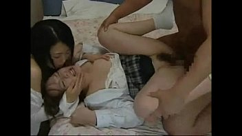 Japanese love story || japanese mom seduce roundass daughter to fuck h..