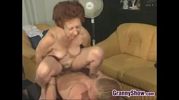 grandma having sex with son