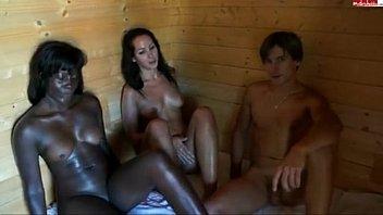 Sauna Threesome | Video Make Love