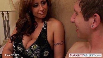 Tattooed Milf Eva Notty take a big young cock | Video Make Love