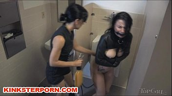 Nice bdsm girl training piss spanking like fun...why