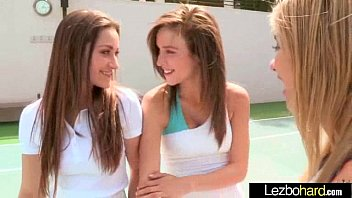 Sexy hot lesbians dani daniels and malena morgan and lia lor in love s..