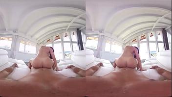 VR порно 180 градусов секс с красоткой