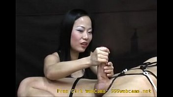 Asian girl gives an intense hand job you will never forget! 999webcams..