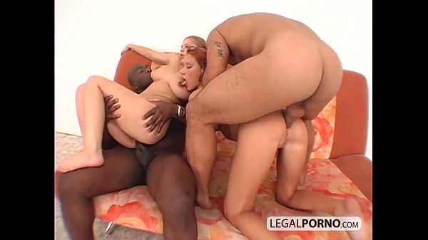 Interracial foursome with two sexy chicks WK...