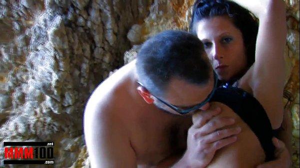 Spanish brunette pornstar noemie jolie gets ...