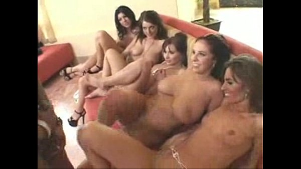 four girls fucking one guy