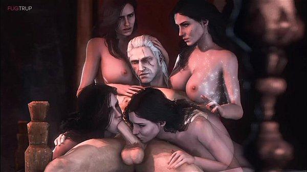 гиф порно ведьмак