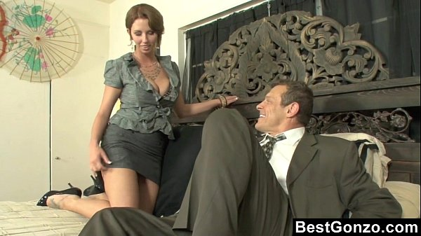 Busty personal accountant cheats on her husband 3