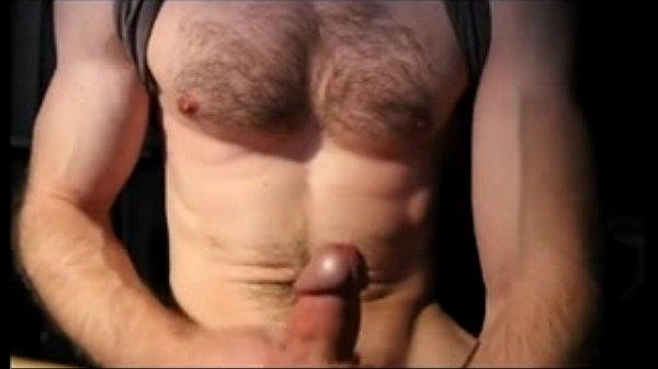 hunks masturbate Horney