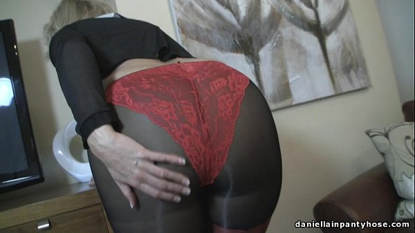Her bad. leather thong mature ended just