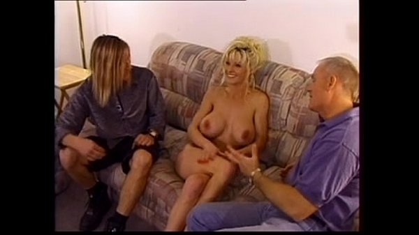 Dick Nasty and Axel fuck a slutty blonde nur...