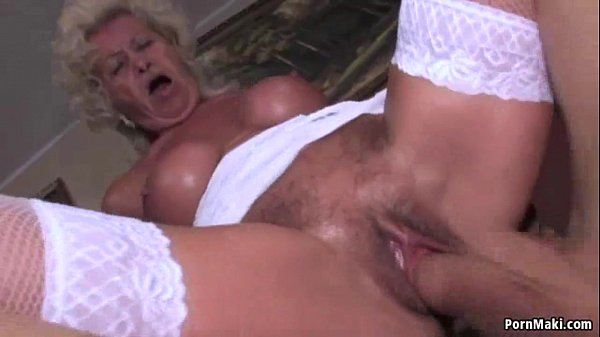 Granny gets laid with a younger gent 1