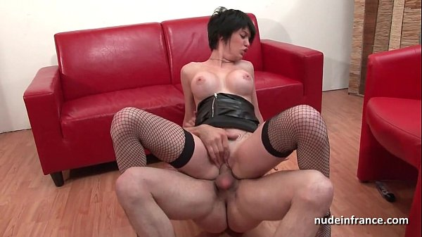 French girl Kenza Suck gets fucked at porn casting