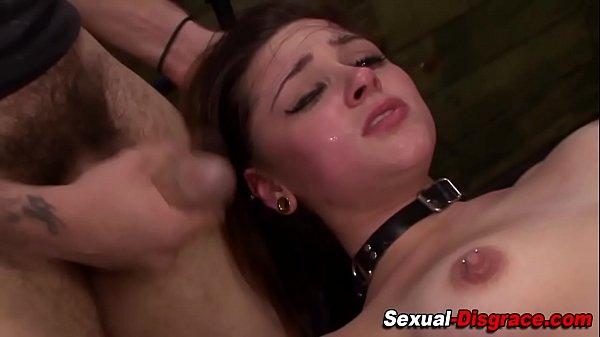 porno-cafe.net - Bdsm whore gets fucked