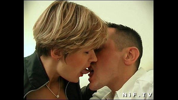 French milf in stockings gets anal fucked...