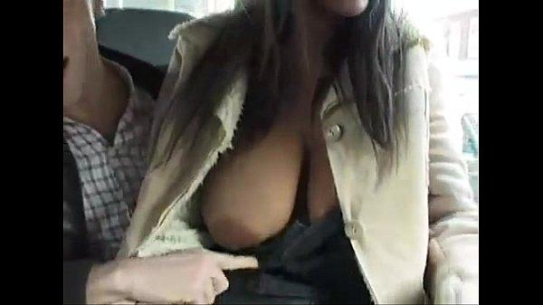 Amanda White Street threesome...