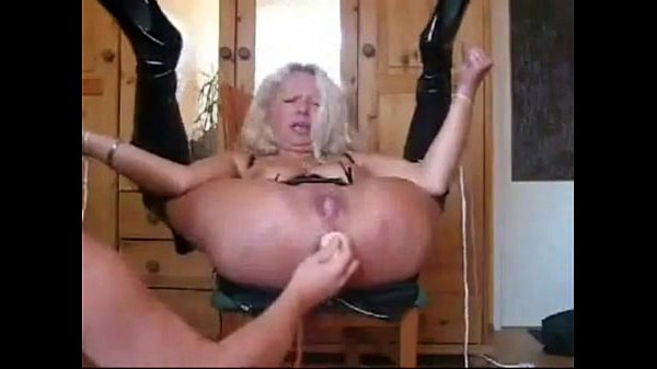 German cougar and one of her many toyboys - 1 part 3