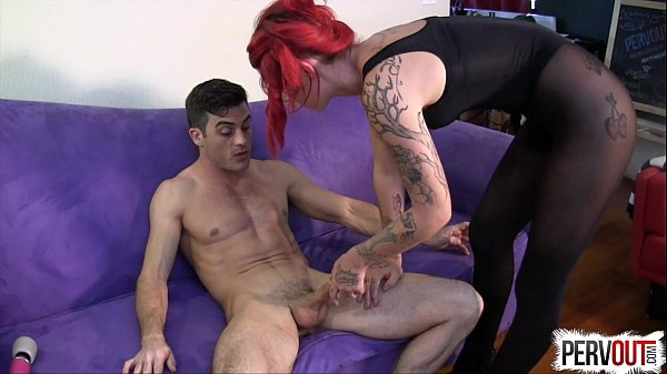 image Ariel kay roommate control with lance hart pantyhose edging