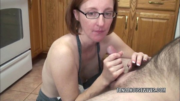 Mature slut layla redd is on her knees to suck a dick