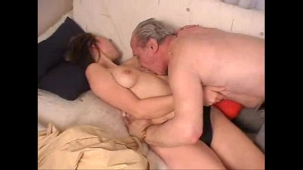 dirty old man shagging girl
