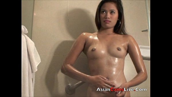 Asian shower nude
