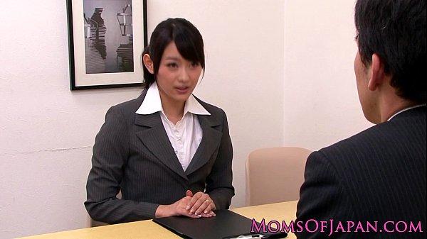 【レズ】巨乳な美熟女の女上司が部下の美人OLを犯しまくる!(風間ゆみ|西野翔)-AVマガジン-
